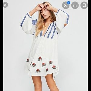 Free People Wild Horses Embroidered Mini | Size SM